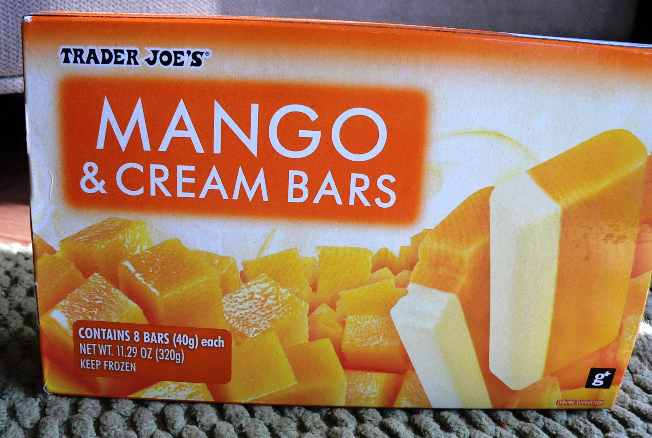 Gluten Free Mango Cream Bar