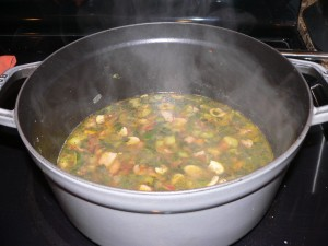 Gluten Free Chicken and 6 Vegetable Soup