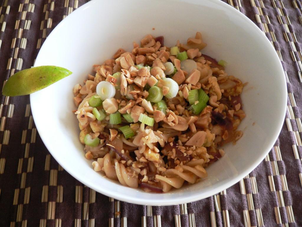 Gluten Free Pad Thai Spirals