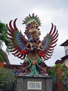 Awesome deity in Indo