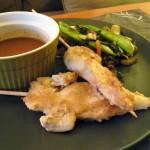 Gluten Free Chicken Sate