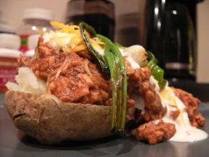 Baked Potato & BBQ Chicken