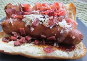 Gluten Free Hot Dog 2